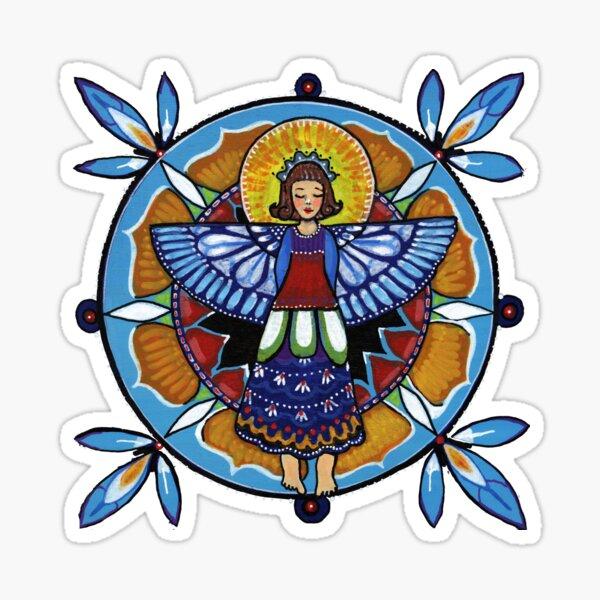 Humble Angel Sticker