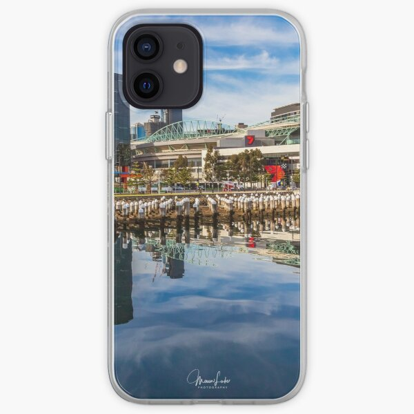 Reflections at Docklands iPhone Soft Case
