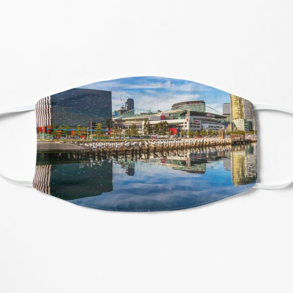 Reflections at Docklands Flat Mask