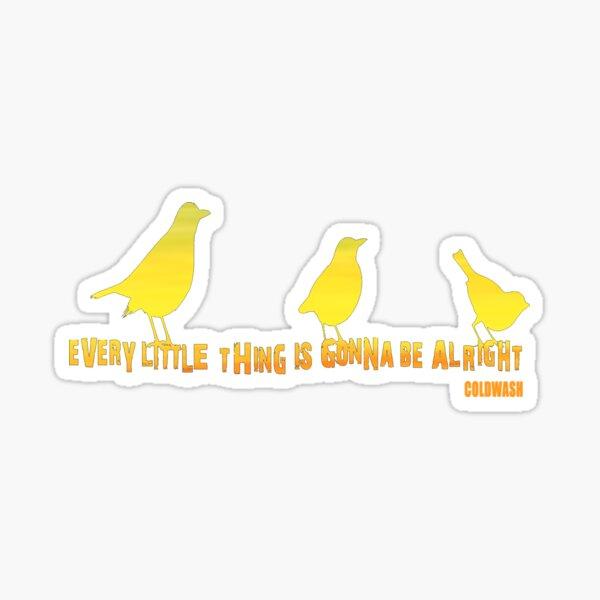3 KLEINE VÖGEL Sticker