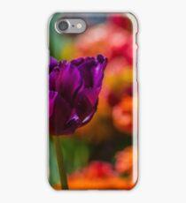 Magenta Tulip 1 iPhone Case/Skin