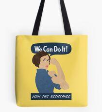 Leia The Riveter Tote Bag