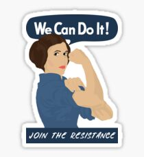 Leia The Riveter Sticker
