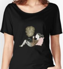 Cats and Coffee Women's Relaxed Fit T-Shirt