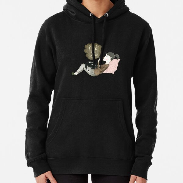 Cats and Coffee Pullover Hoodie