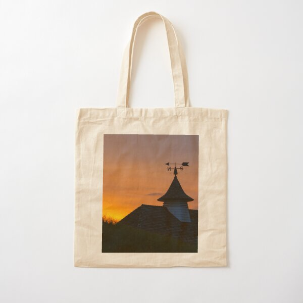 North South Weather Vane Cotton Tote Bag