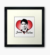 Justin Trudeau Framed Print