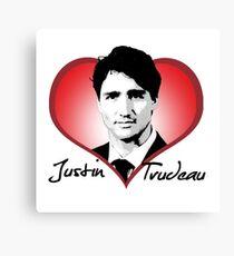 Justin Trudeau Canvas Print