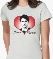 Justin Trudeau Womens Fitted T-Shirt
