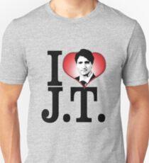 I Love Justin Trudeau Unisex T-Shirt