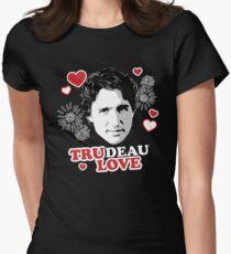 Trudeau Love/ Tru Love Women's Fitted T-Shirt