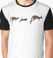 Three kangaroos? Graphic T-Shirt