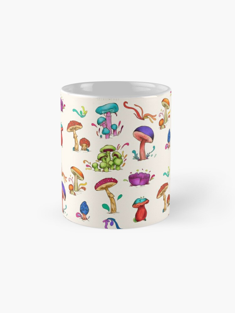 Alternate view of Mushroom cluster Mug
