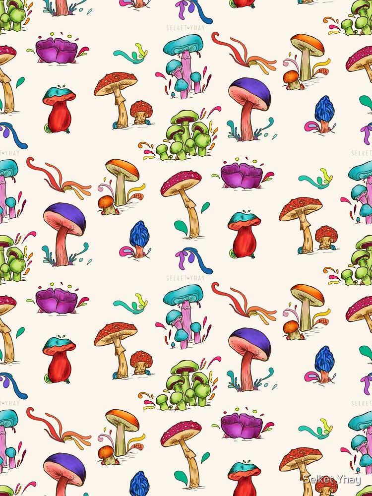 Mushroom cluster by diselachando