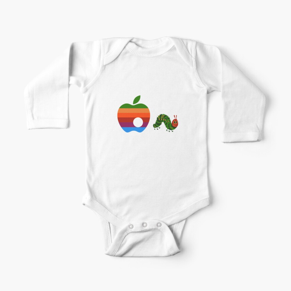Very Hungry for Apple Baby One-Piece