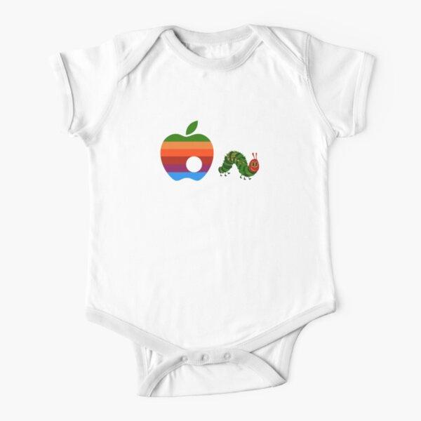 Muy hambriento de manzana Body de manga corta para bebé