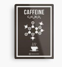 Koffein Metallbild
