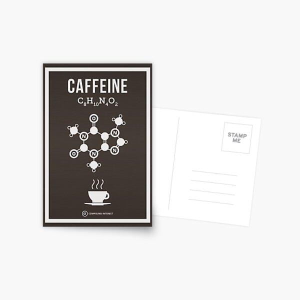 Caffeine Postcard