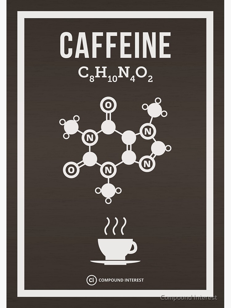 Caffeine by compoundchem