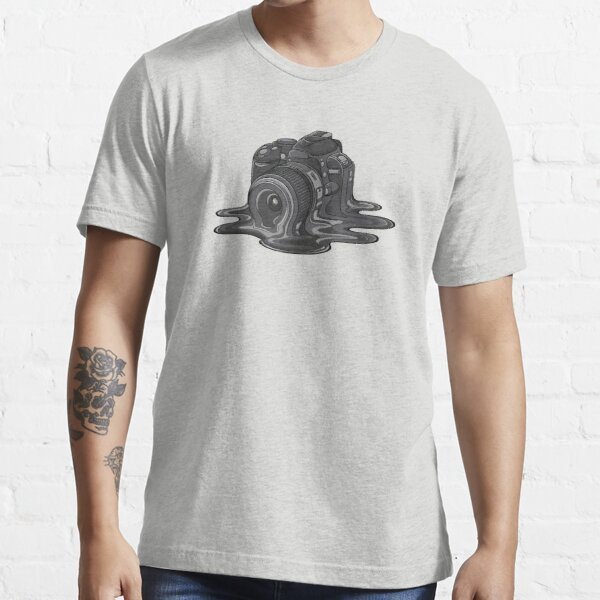 Camera Melt Essential T-Shirt