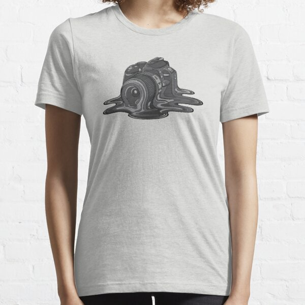 Camera Melt Essential T-Shirt