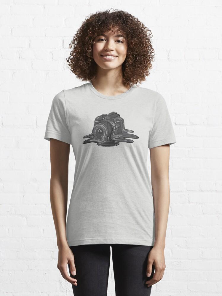 Alternate view of Camera Melt Essential T-Shirt