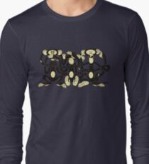 The Wise Monkeys Long Sleeve T-Shirt