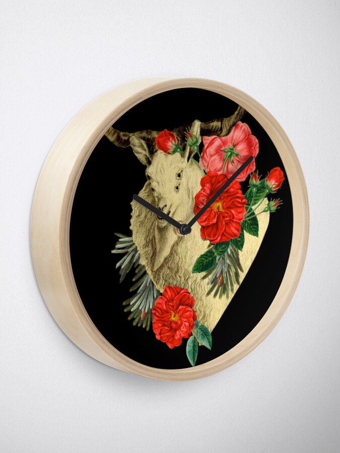 Alternate view of Quattuor Luscus Capra  Clock