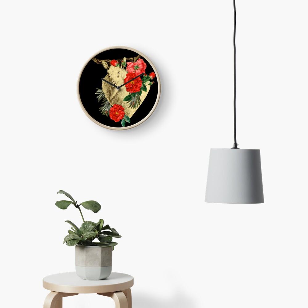 Quattuor Luscus Capra  Clock