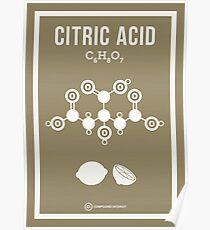 Citric Acid Poster