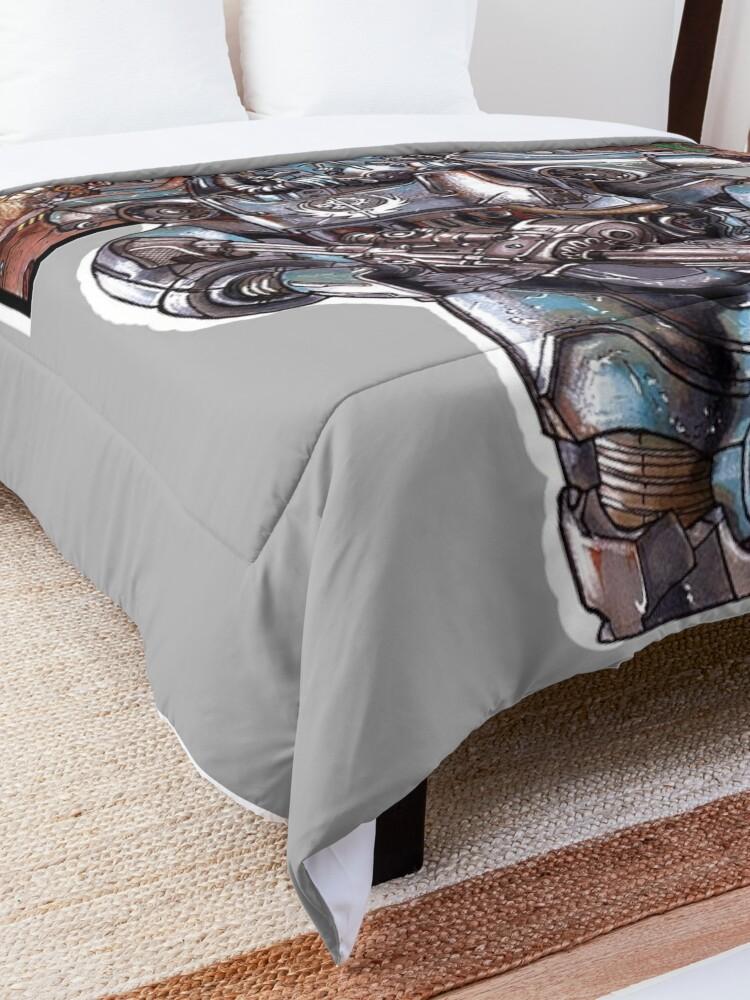 Alternate view of Fallout 4: Brotherhood of Steel Soldier Art Comforter