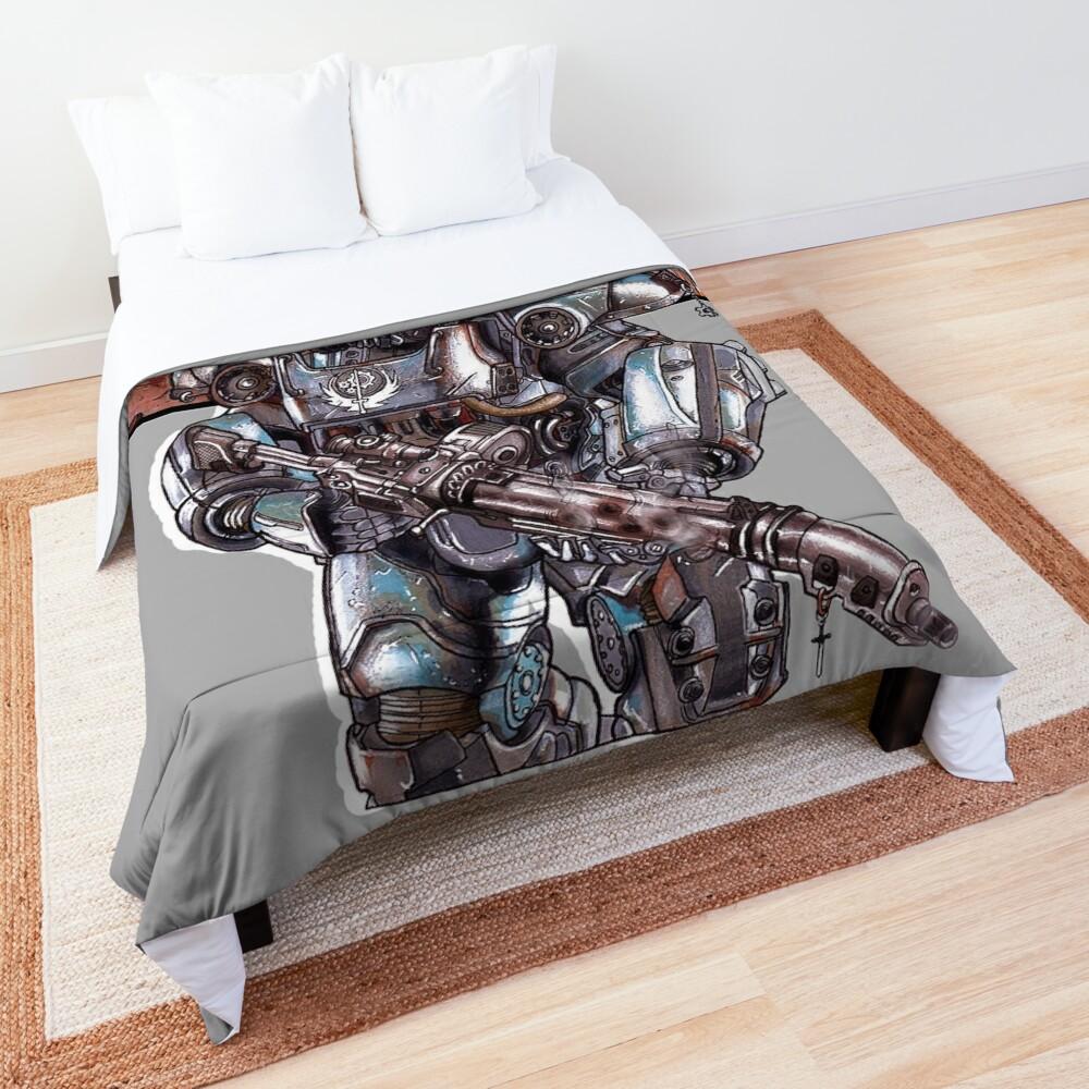 Fallout 4: Brotherhood of Steel Soldier Art Comforter
