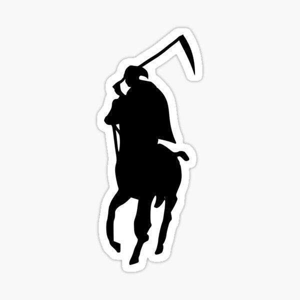 Polo Grim Reaper Sticker