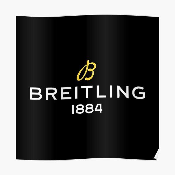 Breitling Logo  Poster