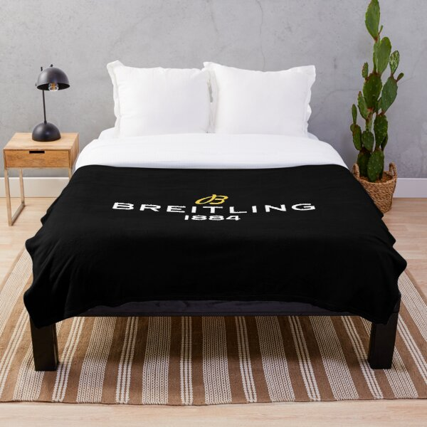 Breitling Logo  Throw Blanket