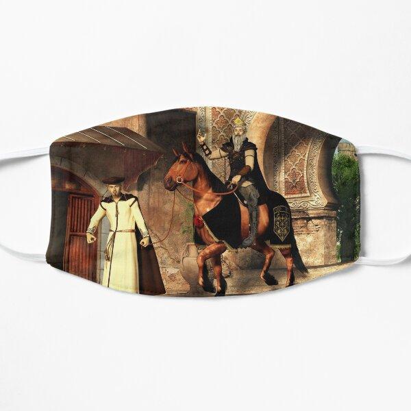 Mordechai and Haman Flat Mask