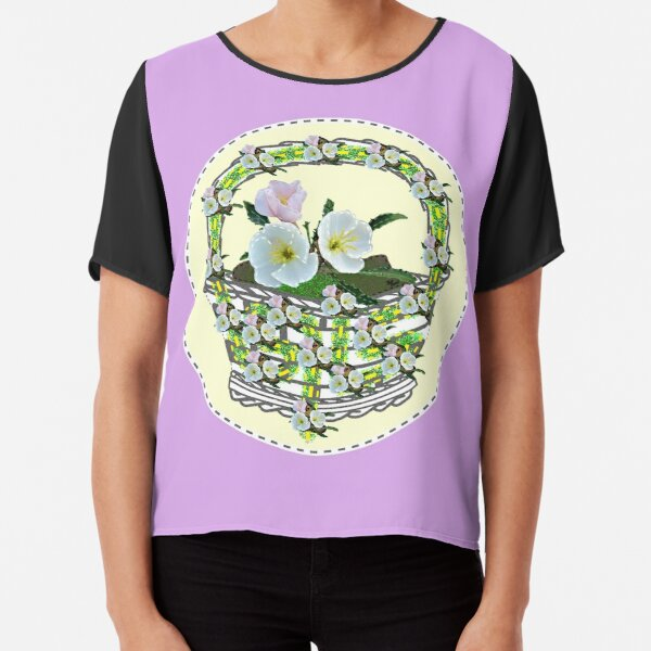 Abound in Hope! (Playful Art) Chiffon Top