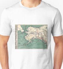 ALASKA GOLD RUSH SURVIVAL MAP/GUIDE  1897 Unisex T-Shirt
