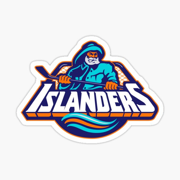 New York Islanders Fisherman Sticker
