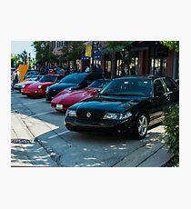 Automotive A-Team Photographic Print