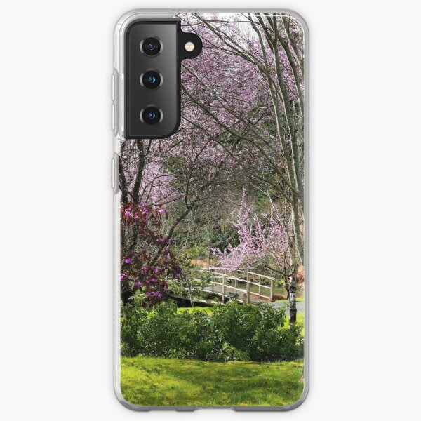 Almost Noon with Plum Blossoms in Japanese Garden Samsung Galaxy Soft Case