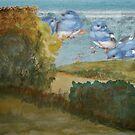 Wakening birds by BSherdahl