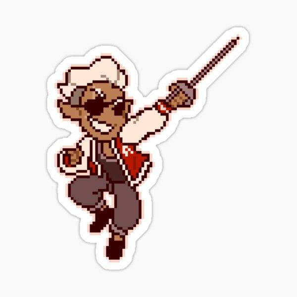 Fabian Seacaster Pixel Sticker