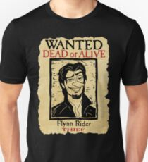 WANTED FLYNN RIDER: LONG NOSE T-Shirt