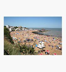 Beach Summer Broadstairs Photographic Print