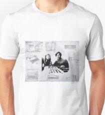 APPLE COMPUTER FIRST PATENT - JOBS & WOZNIAK Unisex T-Shirt
