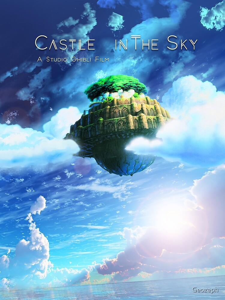 High Quality Prints Studio Ghibli Anime Poster Castle in the Sky Poster