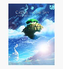 Castle In the Sky Poster Photographic Print