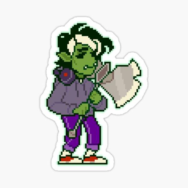 Gorgug pixel Sticker