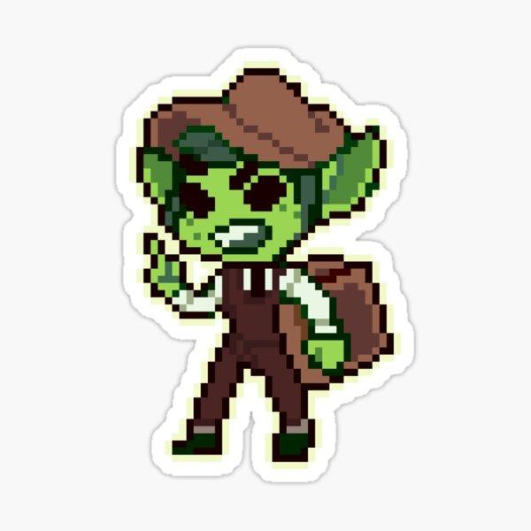 Riz Gukgak pixel Sticker
